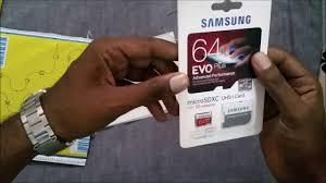 <b>Original Samsung Evo</b> Plus 64 GB MicroSDXC <b>memory</b> card (Real ...