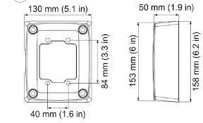 Купить <b>Монтажные коробки</b>, <b>адаптеры</b>, обогреватели <b>AXIS</b> ...