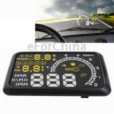 W02 5.5 inch Car OBDII HUD Fuel Consumption Warning ... - SUNSKY