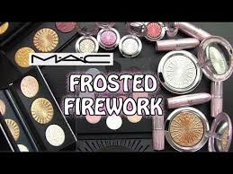 <b>MAC FROSTED FIREWORK</b> Collection Swatches & Review - YouTube