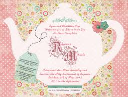 tea party invitation com tea party invitation by way of giving some remarkable design to designing your party 9