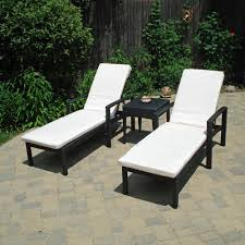 black wooden double chaise lounge outdoor with white cushion for patio furniture ideas black outdoor balcony furniture