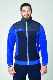 M06110G-AN192 <b>Куртка флисовая мужская</b> (голубой/синий ...