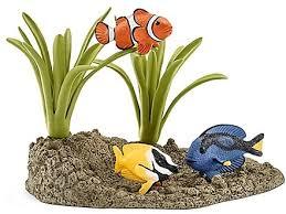 <b>Фигурка Schleich</b> Коралловые рыбки <b>игровой</b> набор купить в ...
