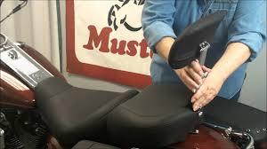 Mustang Seats - Removable <b>Passenger Backrest</b> - YouTube