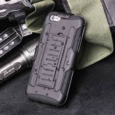online get cheap military covers aliexpress com alibaba group hard hybrid dual layer ultra holster case for coque iphone 6 6s 3d kickstand amp