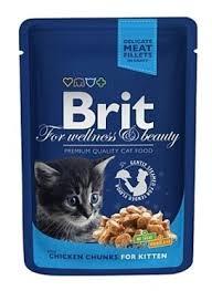 <b>Корм для котят</b> Brit Premium беззерновой, с курицей 100 г ...