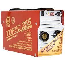 Характеристики модели <b>Сварочный аппарат Торус 255</b> Профи ...