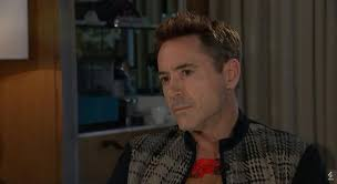 see it  robert downey jr cuts cringe worthy interview short   ny    extremely dark and personal questions flung at avengers star robert downey jr during a promotional interview