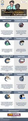 best ideas about interview techniques job self promotion in job interview infographic