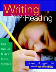 amazoncom writing about reading from book talk to literary  amazoncom writing about reading from book talk to literary essays grades    janet angelillo books