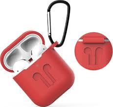 <b>Чехол Eva для наушников</b> Apple AirPods 1/2 с карабином ...