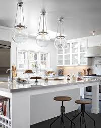 island design ideas designlens extended: gorgeous kitchen with rejuvenation lights over island