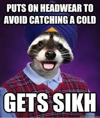 Bad luck lame pun coon memes | quickmeme via Relatably.com