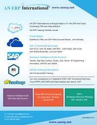 an erps sfroce crm sap informatica and big data hadoop and flyers