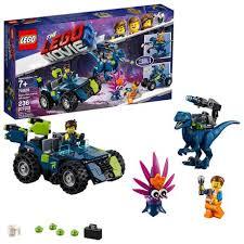 <b>THE LEGO MOVIE</b> 2 Rex's Rex-treme Offroader! <b>70826</b> Building Kit ...