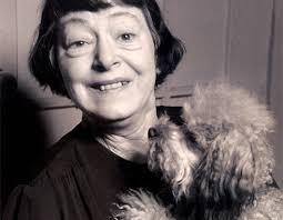 Dorothy Parker. My kind of woman. - parker-dorothy-parker-misty-poodle-1953-490x380