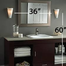 larkspur wall sconce by tech lighting bathroom lighting fixtures over mirror