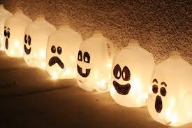 halloween ghost jugs child friendly halloween lighting inmyinterior outdoor