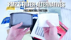 How to Make <b>PM2</b>.<b>5</b> Filters - YouTube