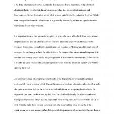 family background example essay financial statement form cover letter family essay examples essays examples adoption essay sample