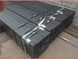 black welded square steel pipe tube used for furniture black steel pipe furniture