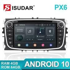 Isudar PX6 2 <b>Din Android 10</b> Car Multimedia - www.meatchell.ru