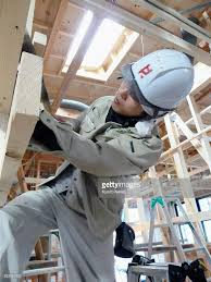 postgraduates flocking to carpentry jobs at small builder in taiyo byakuno engages in carpentry on a home building site he and scores of other
