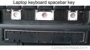 How do I <b>fix</b> a broken laptop <b>key</b> or put it back on?