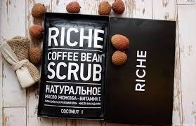 Натуральный <b>органический кофейный скраб</b> Riche – купить в ...