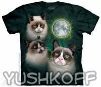 Grumpy <b>cat футболки</b> купить в Москве по доступной цене