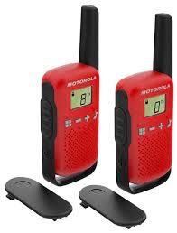 Купить <b>Рация Motorola Talkabout T42</b> Twin Pack красный/черный ...