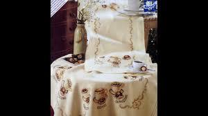 <b>Набор для вышивки</b> крестом <b>Vervaco</b> Скатерть с кофейными ...