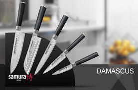 Купить <b>Набор из 5 кухонных</b> ножей Samura Damascus и ...