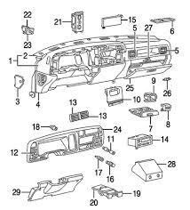 dodge truck interior parts mopar parts jim s auto parts 2002 new 2005 dodge ram 1500 2005 dodge ram 2500 3500 instrument panel