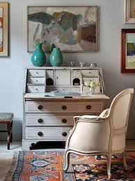 work space with vintage inspired furniture antique inspired furniture
