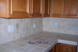 countertop trends tile gallery of tile countertop ideas kitchen cabinet pictures countertops