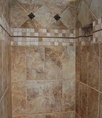 bathroom shower tile design color combinations: bathroom design abstract ceramic tile designs for bathrooms small size simple ideas with cream and brown color combination make it popular in  awesome