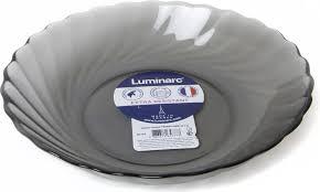 <b>Тарелка глубокая Luminarc Трианон</b> Графит, N5762, серый ...