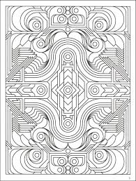 Small Picture Coloring Page Geometric Coloring Pages For Adults Coloring Page