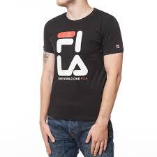<b>Одежда</b> :: <b>Футболки</b> :: <b>Футболка Fila</b> One World T-Shirt Black