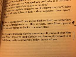 andrew millar twenty five years later i ve recently re the novel as i prepare to teach it to a group of a level students