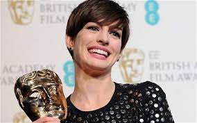 Bafta winners 2013: the full list. The full list of winners at the Baftas 2013. Anne Hathaway won Best supporting actress for 'Les Miserables' Photo: EPA - Anne-Hathaway-best_2476550b