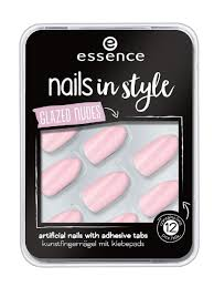 <b>Накладные ногти на клейкой</b> основе Nails In Style т.08 розовый ...