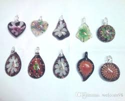 <b>10pcs</b>/<b>lot Mix Styles</b> Multicolor Murano Lampwork <b>Glass</b> Pendants ...