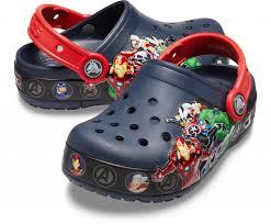 <b>Сабо Kids</b>' <b>Crocs</b> Fun Lab Marvel Band Lights Clog - купить в ...