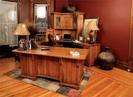amish bentley office deluxe executive desk with corner work station amazing wood office desk