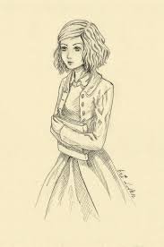 browsing drawings on fanart the book thief liesel by eri d ann
