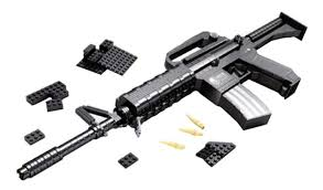 Купить <b>конструктор</b> пластиковый <b>Ausini</b> Оружие - Штурмовая ...