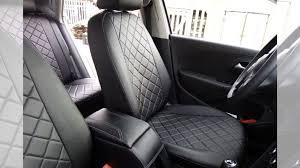 """<b>Авточехлы Rival</b> """"<b>Ромб"""" для</b> сидений Volkswagen Polo купить в ..."""